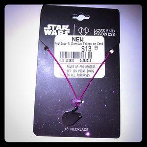Jewelry - Star Wars Millennium Falcon Necklace